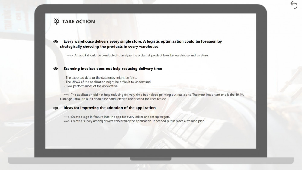 Take Action Page